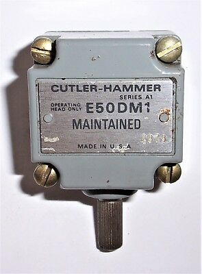 Cutler Hammer E50DMI Limit Switch Operating Head Series A2 Maintained