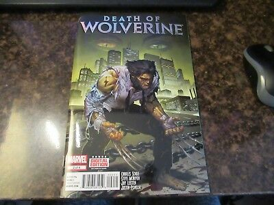 DEATH OF WOLVERINE #2 Holofoil Cover Marvel * FIRST PRINT *