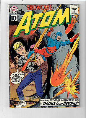 SHOWCASE #35 - Grade 6.0 - 2nd appearance of RAY PALMER, THE ATOM!!