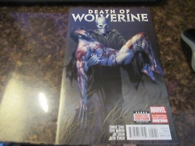 "DEATH OF WOLVERINE #4  ""2nd printing"" VARIANT MARVEL"
