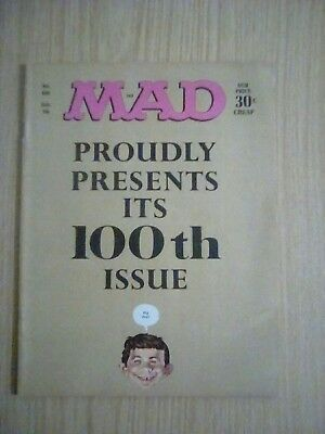 MAD MAGAZINE #100   USA Edition Jan 66