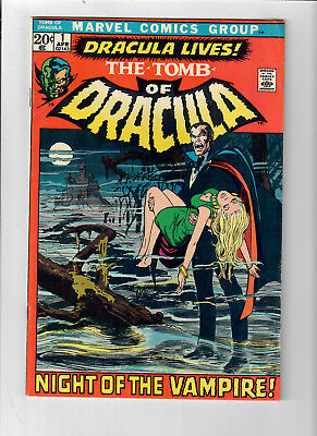 TOMB OF DRACULA #1 - Grade 6.0 - First appearance of Marvel's DRACULA!