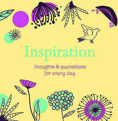 Inspiration: Thoughts and Quotations for Every Day by Angela Davey (Hardback, 20