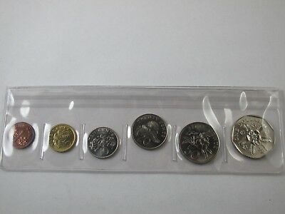 1986 Singapore Uncirculated Coin Set