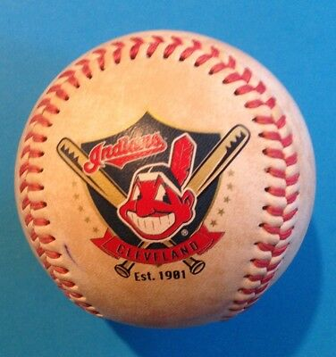 Cleveland Indians Major League Baseball (MLB) Limited Edition (fotoball)
