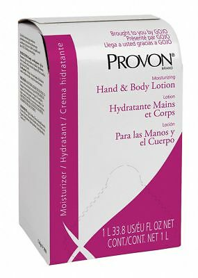 Provon Hand and Body Lotion, Unscented, 1000mL Cartridge, 8 PK 1000mL White 2533