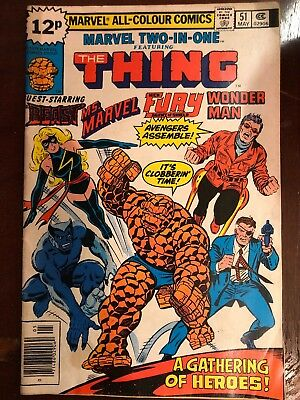 Marvel Vintage Comics The Thing