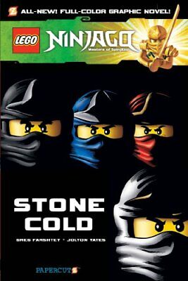 Lego Ninjago #7: Stone Cold by Farshtey, Greg Book The Cheap Fast Free Post