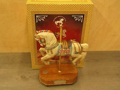 Lefton The Great American Carousel Carousel Horse IOB