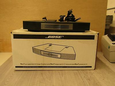 Bose Wave Music System Multi CD Changer In Original Box Graphite Tested