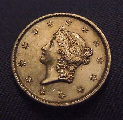 1853 Liberty Head GOLD Coin    Beautiful   Ungraded Coin