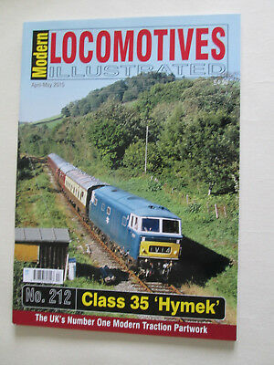 Modern Locomotives Illustrated no 212  The Class 35 HYMEK  (NEW)