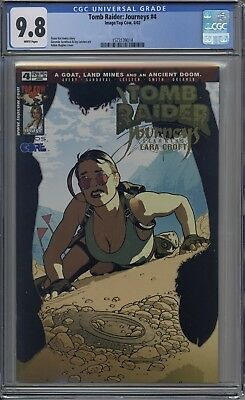 Tomb Raider : Journeys # 4 CGC 9.8 Adam Hughes Cover ONLY 2 IN 9.8