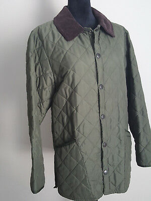 Barbour Womens Jacket Coat Quilted Long Size XS