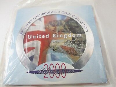 2000 United Kingdom Brilliant Uncirculated Coin Set (Sealed)