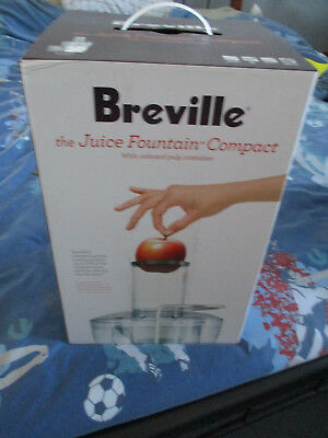 Breville the Juicer Fountain Compact Never used still packed