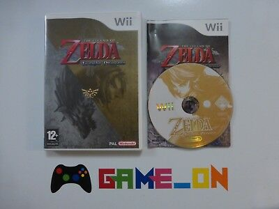 Nintendo Wii The Legend Of Zelda Twilight Princess Game Complete ~ FREE P+P