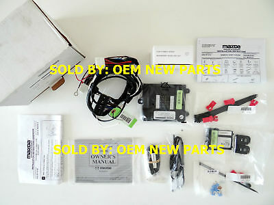 2006 2007 2008 Mazda 6 Remote Engine Start Kit Genuine 0000-8F-H13B NEW OEM