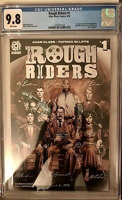 Rough Riders 1 CGC 9.8 First Appearance Key