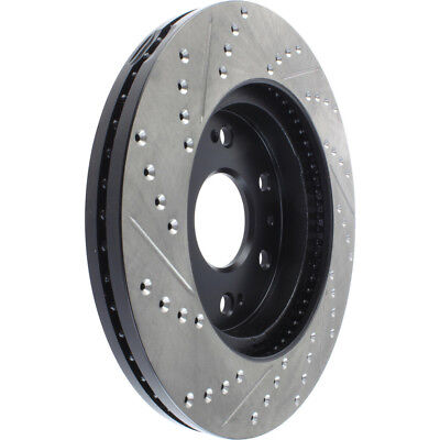 Disc Brake Rotor-Sport Drilled/Slotted Disc Front Left STOPTECH 127.66057L