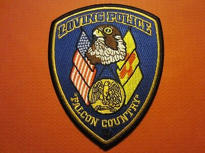 Collectible New Mexico Police Patch, Loving, New