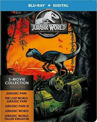 Jurassic World: 5-movie Collection [New Blu-ray] Ltd Ed, Boxed Set, Collector'