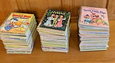 Choice 1 One Little Golden Book No Writing Many No Name Disney Vintage Lot Books