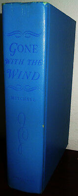 """""""Gone With The Wind"""" 1936 First Edition Hardcover Margaret Mitchell Book Club Ed"""
