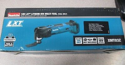 Makita XMT03Z 18V LXT Cordless Lithium-Ion Multi Tool Bare Tool Only NEW