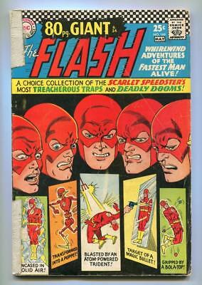 The Flash #169 - Eighty Page Giant - New Origin Facts Told - Rouge Gallery 1967