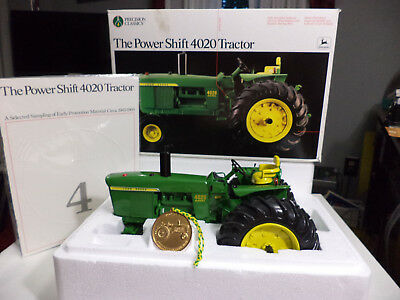 Ertl 1/16 Precision #4 4020 Power Shift John Deere Tractor - Mint