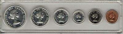 1963 Canadian Proof-set in Whitman holder