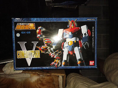 Bandai Soul of Chogokin Combattler V GX-03 Popy! Used for display only!