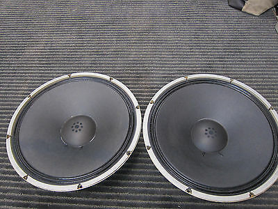"PR Vintage Sonics 16"" Woofers, Ex Condition, Japanese Quality, Ex Sound, VERY NI"
