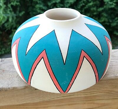 Studio Pottery Art Vase Walsh 95 South West Style Table Decoration