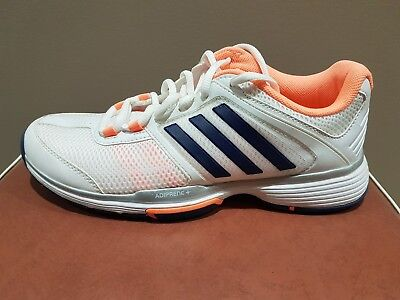 Adidas Tennis Or Court Sports Shoes.   Ladies Size Us 9.  Great Condition.