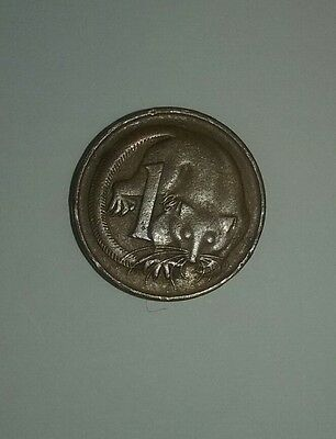 1966 Australian 1 Cent Coin 1c First year of release. * Free postage *