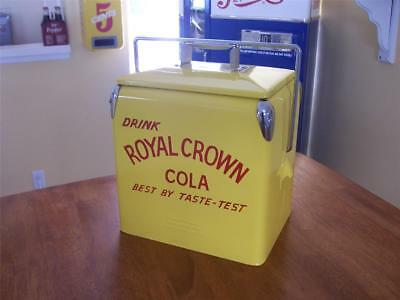 Royal Crown Cola 6 Pack Cooler - 1950's Style Six Pack Retro Cooler