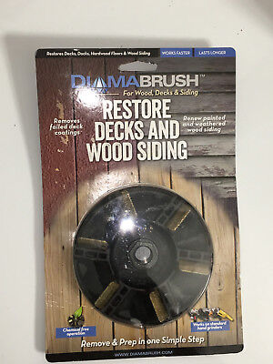 3 Diamabrush sanding grinder attachment for removing paint and wood coating