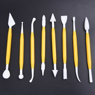 Christmas Gift for Kids Clay Sculpture Tools Fimo Polymer Clay Tool 8 piece O1B6