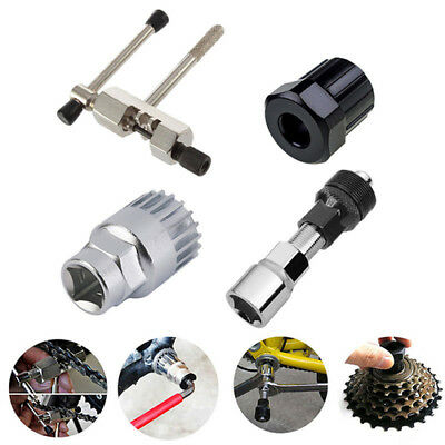 Bicycle Bike MTB Repair Tool Kit Crank Extractor Chain Breaker Cassette Remover