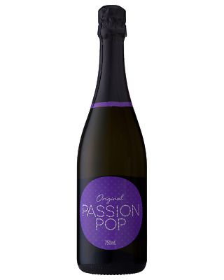 Passion Pop Original Champagne Sparkling 750mL case of 6