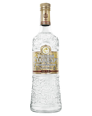 Russian Standard Gold Vodka 700mL Spirits bottle