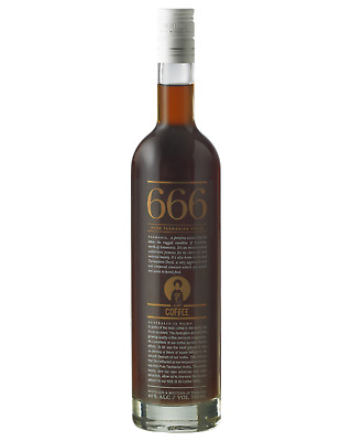 666 St Ali Coffee Tasmania Vodka 700mL Spirits bottle