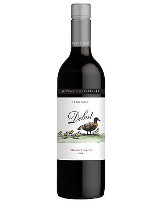 Capel Vale Debut Cabernet Merlot Red Wine Margaret River 750mL case of 6