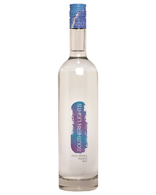 Southern Lights Cold Grain Vodka 700mL Spirits bottle