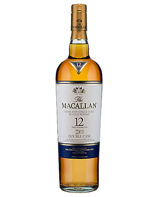 The Macallan 12 Year Old Double Cask Single Malt Scotch Whisky 700mL bottle