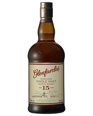Glenfarclas 15 Year Old Scotch Whisky 700mL Speyside bottle