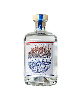 Giniversity London Dry Gin 500mL Spirits bottle