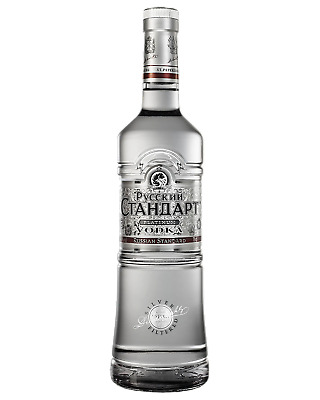 Russian Standard Platinum Vodka 700mL Spirits bottle